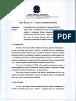 2016 Nota Técnica Nº 179 - NR12 Ferramentas Eletricas
