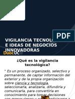 Vigilancia Tecnologica e Ideas de Negocio