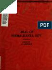 Trial of Nirmalkanta Roy