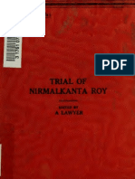 Trial of Nirmalkanta Roy
