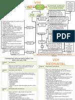 Mapa Mental VIH Neonatal 2012
