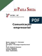 A Comunicação Empresarial