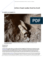 Archaeologists Might Have Found Another Dead Sea Scroll Cave _ Smart News _ Smithsonian