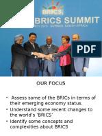 Brics Economy PPT
