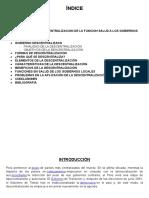 Monografia de Descentralizacion