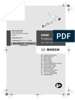 Manual Da Suta Digital DWM 40 Bosh