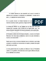 Discurso Benito Juárez Presidente Del Cde Pri Sonora