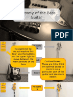 Anatomy of the Bass Guitar