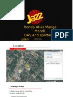 Honda Atlas DAS and Splitter Plan