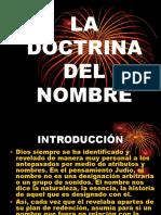 La Doctrina Del Nombre.
