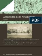 Apreciación de La Arquitectura Artes
