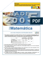 Enad Matematica 2005 q 11