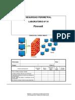 Lab 01 - Firewall