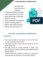 Coal Mill Performance Optimisation