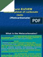 Metamorphic Petrology - Lecture XI