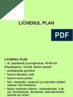 Lichen Plan, Precancere