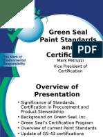 Green Seal Presentation