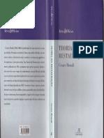 Teoria da Restauração - Cesare Brandi.pdf