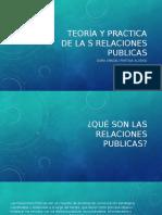 Teoría y Practica de La s Relaciones Publicas