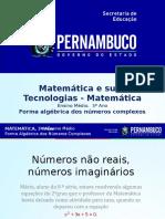 Forma Algébrica Dos Números Complexos