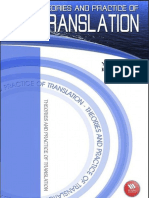 Theories and Practice of Translation