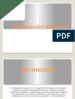 Integracin Sensorial Diapositivas Informatica