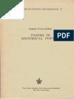 Even-Zohar 1978 Papers in Historical Poetics