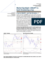 A Top for USDJPY…and 10yr US Yields…