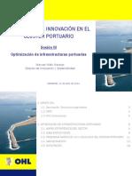 14 06 10 VII Jornada Innovacion Cluster Portuario OHL Mvillen