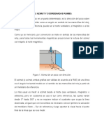 1.1.3 Azimut y Coordenadas Rumbo.