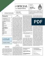 Boletin Oficial 13-07-10 - Segunda Seccion