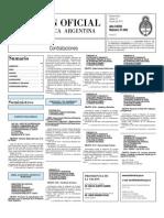 Boletin Oficial 13-07-10 - Tercera Seccion