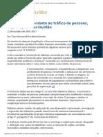 ConJur - Vitor Fachinetti_ Nova Lei Visa Combate Ao Tráfico de Pessoas