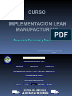 Implementación Lean Manufacturing