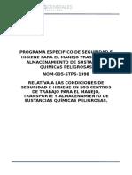 259805193-Programa-Especifico-de-Seguridad-e-Higiene-Para-El-Manejo-Trasporte-y-Almacenamiento-de-Sustancias-Quimicas-Peligrosas.doc