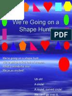 We'Re Going on a Shape Hunt!Presentation