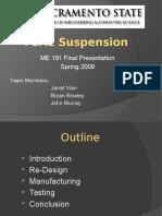 FSAE Suspension