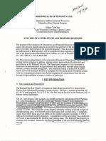 DEP Analysis of Alternatives Bishop Tube 12.14.2006