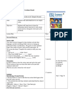 intermediate grammar lesson plan