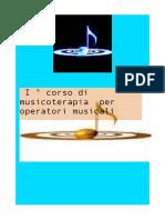 Musicoterapia Corso