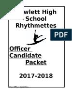 jv officer packet 17-18