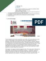 Sample Documentation for E-Commerce Project (E-Commerce Tile Shop)