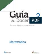 Guia Matematica 2 Secundaria
