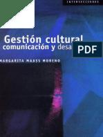 Gestión Cultural, Comunicación y Desarrollo