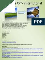 Windows XP to Vista Tutorial