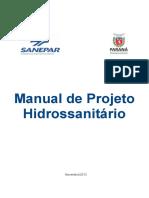 Manual de Projeto Hidrossanitário Da Sanepar