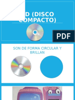 CD Disco Compacto