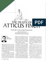 Brian Tannebaum on The Death of Atticus Finch
