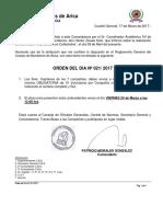 Orden 021 Seminario Anb
