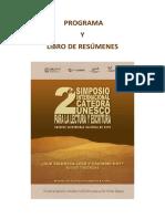 Programa y Libro de Resumenes